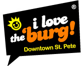 Downtown St. Pete/I love the 'Burg