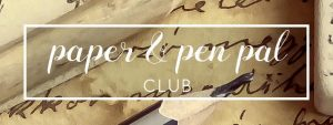 Paper & Pen Pal Club @ Room 901 | Saint Petersburg | Florida | United States