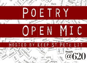 Poetry Open Mic @ The Studio@620 | Saint Petersburg | Florida | United States
